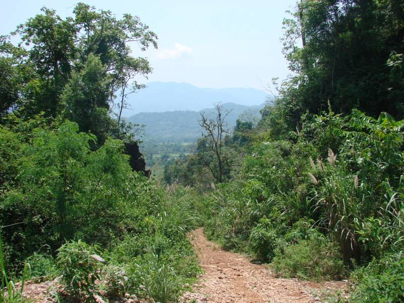 Hiking in Vang Vien, Laos