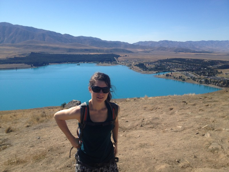 Lake Tekapo - one of the awesome hikes on the South Island of New Zealand