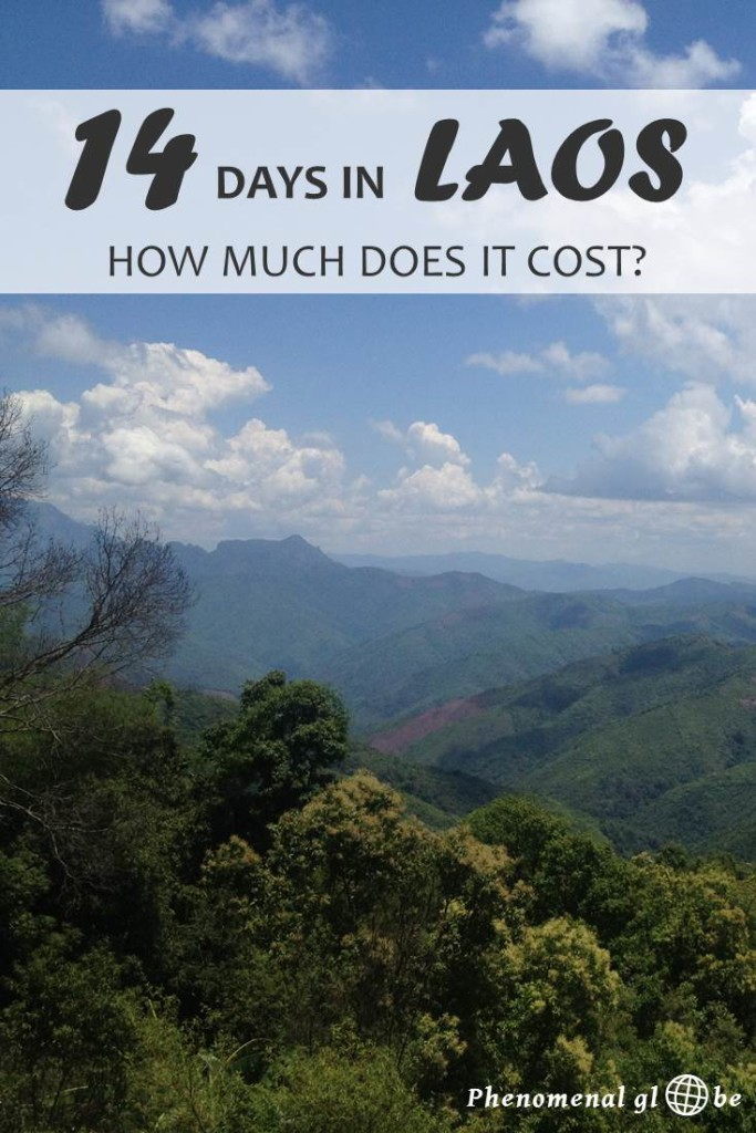 Wondering how much it costs to travel Laos? Check out this detailed Laos budget breakdown (including accommodation, transport, food & drinks and activities) and learn about the average daily travel budget in Laos (511.000LAK / €57 / $64 a day. #Laos #SEAsia #BudgetTravel