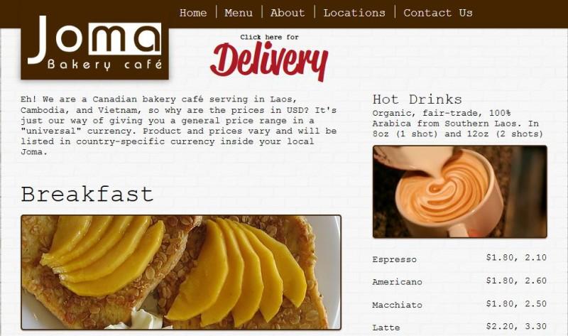 JoMa Bakery Luang Prabang