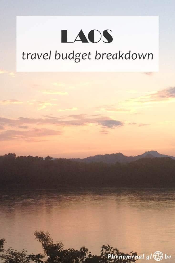 I traveled with my husband around Laos for 2 weeks, we spent on average 511.000LAK (€57/$64) a day. Read my detailed budget breakdown about the costs of travel in Laos (including accommodation, transport, food & drinks and activities). Find out exactly how much a 2-week trip around Laos costs and download a convenient budget breakdown infographic on Phenomenal Globe Travel Blog.