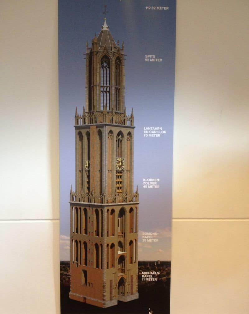 Climbing The Dom Tower In Utrecht