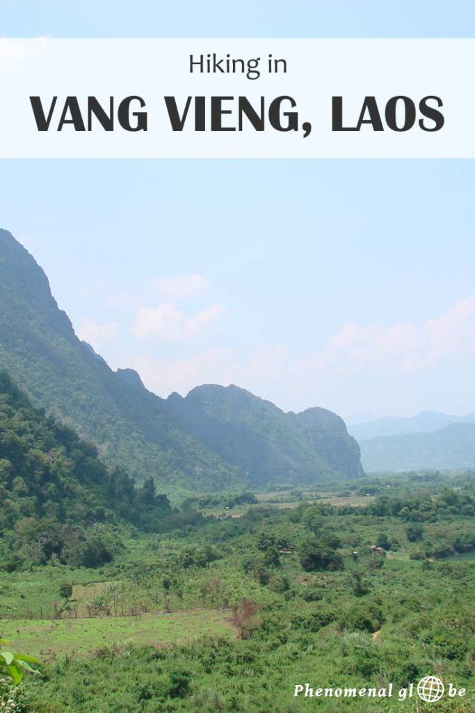 Vang Vieng is famous for it's bars and tubing but why don't you go hiking instead! I hiked an amazing trail which went along impressive limestone cliffs and through the dense green jungle, leading to a secret hidden waterfall... #VangVieng #Laos #hiking