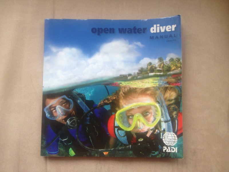 PADI Open Water Course Book
