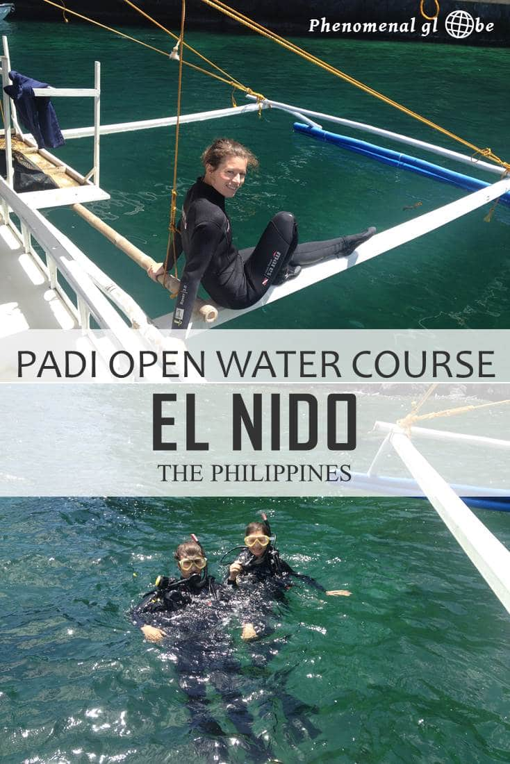Read everything you need to know about doing a PADI Open Water Course in El Nido, the Philippines. Download the 3-day program, read about the costs of the course and what's included and check out the map with dive sites. The underwater world in the Philippines is phenomenal and I can absolutely recommend getting your PADI in El Nido!