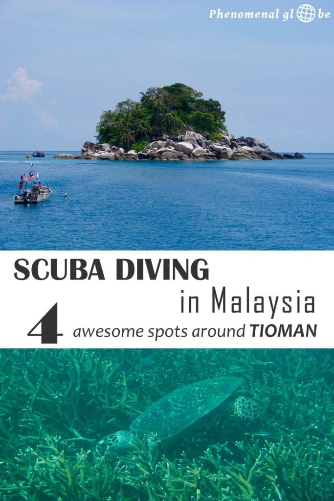Diving at Tioman in Malaysia was amazing! Renggis, Labas, Soyak & Batu Malang are just 4 of the 29 phenomenal dive sites found around this gorgeous island.