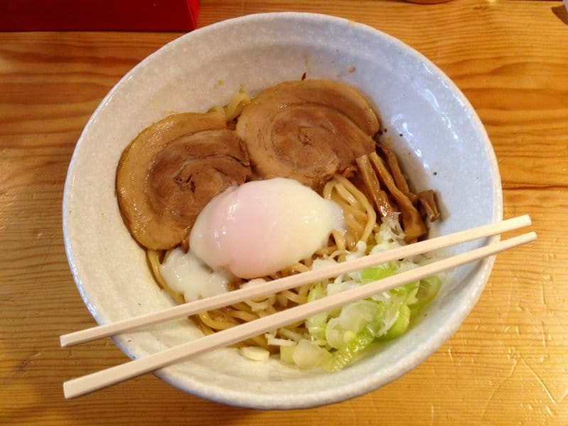 Things to eat in Takayama - abura soba