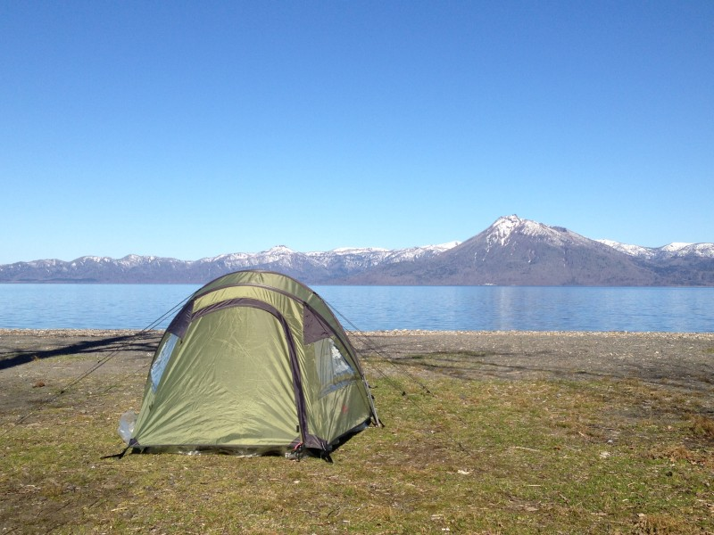 Camping in Japan Hokkaido