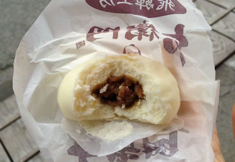 Hida beef bun - Takayama street food