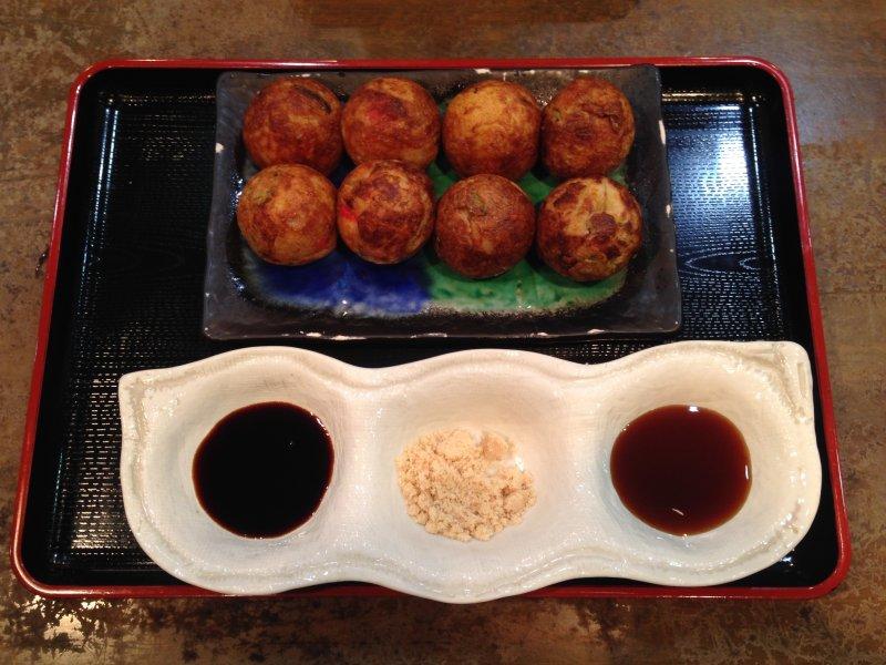 Takoyaki from Takobon at Narita Airport