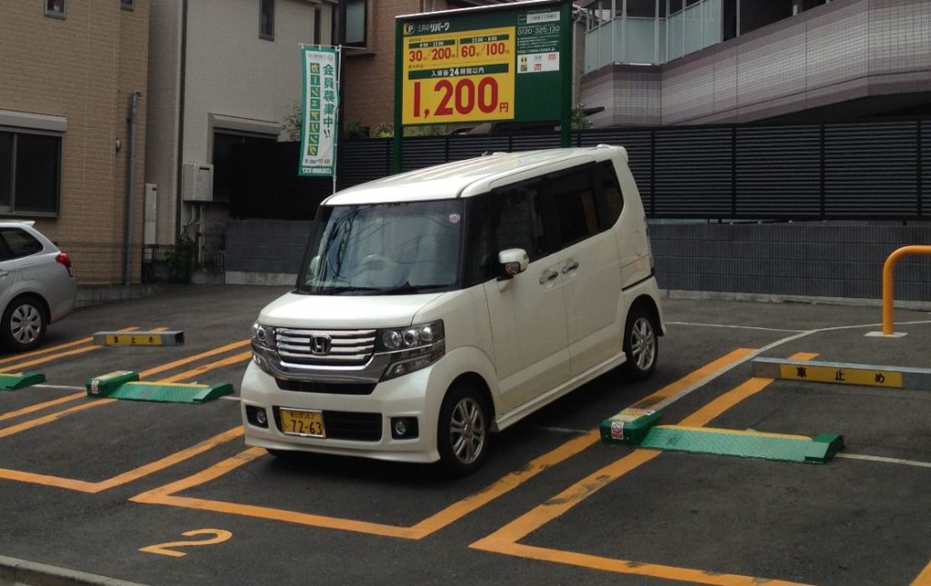 Ugly Japanese car in Tokyo