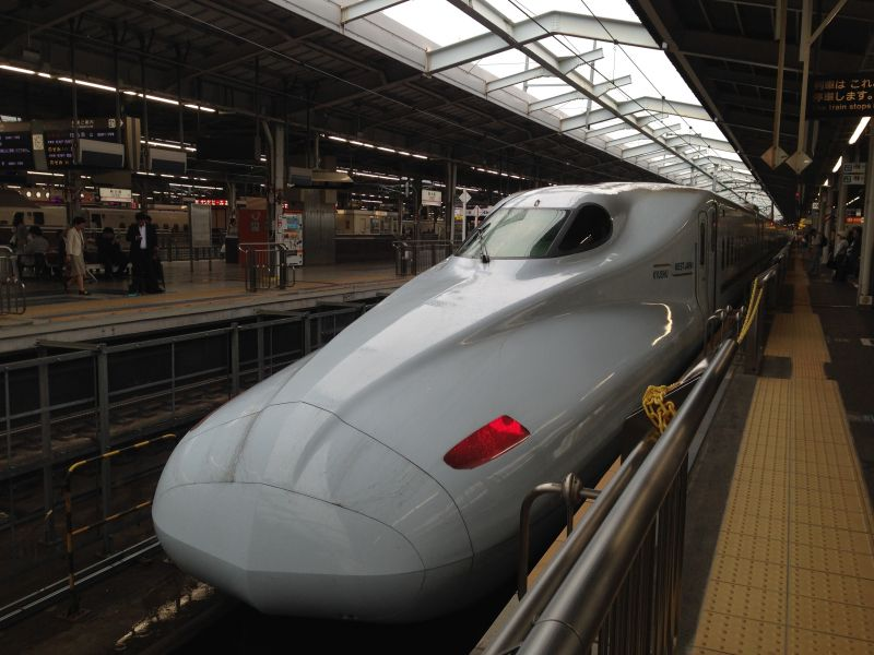 Shinkansen Japan Shin Osaka station