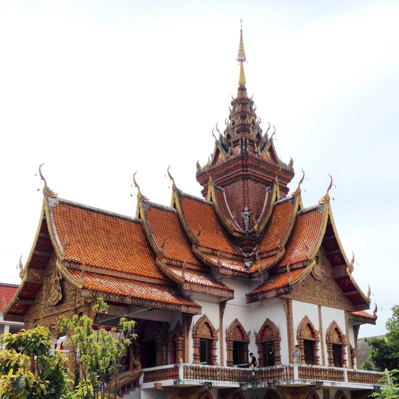 Wat Bupparam in Chiang Mai, Thailand