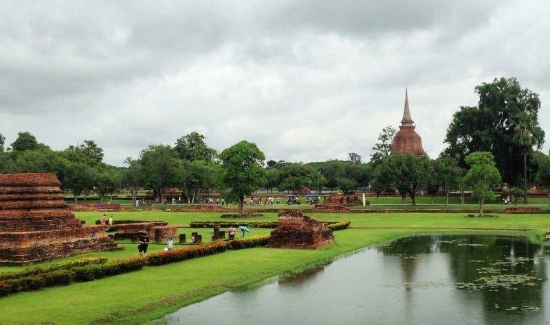 Sukhothai Thailand temple ruins