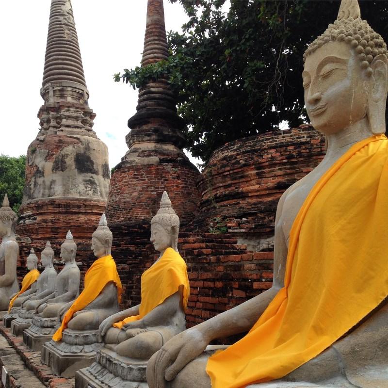 Wat Yai Chai Mongkhon Ayutthaya Thailand