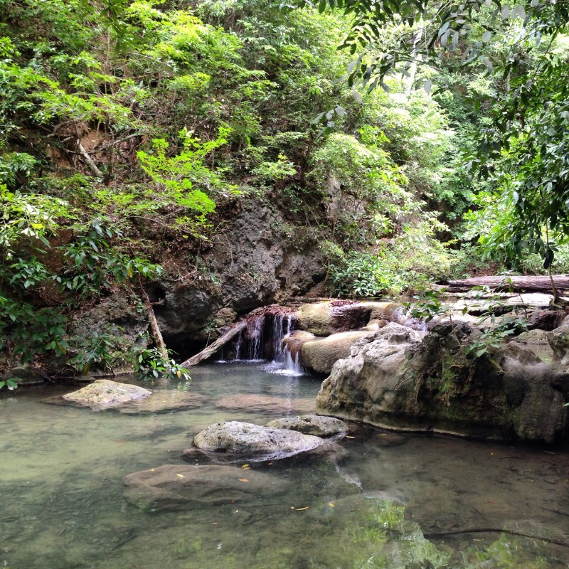 Erawan National Park Kanchanaburi Thailand