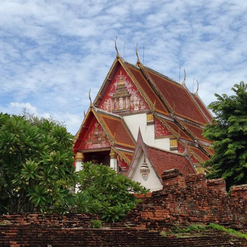 Wat Phra Mongkhon Bophit Ayutthaya Thailand
