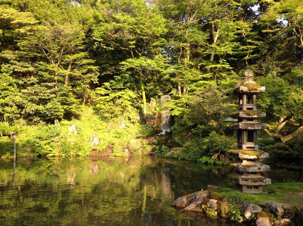 Kenruko-en garden Kanazawa - Japan itinerary