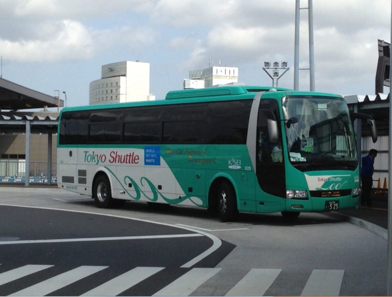 keisei tokyo narita bus airport to city