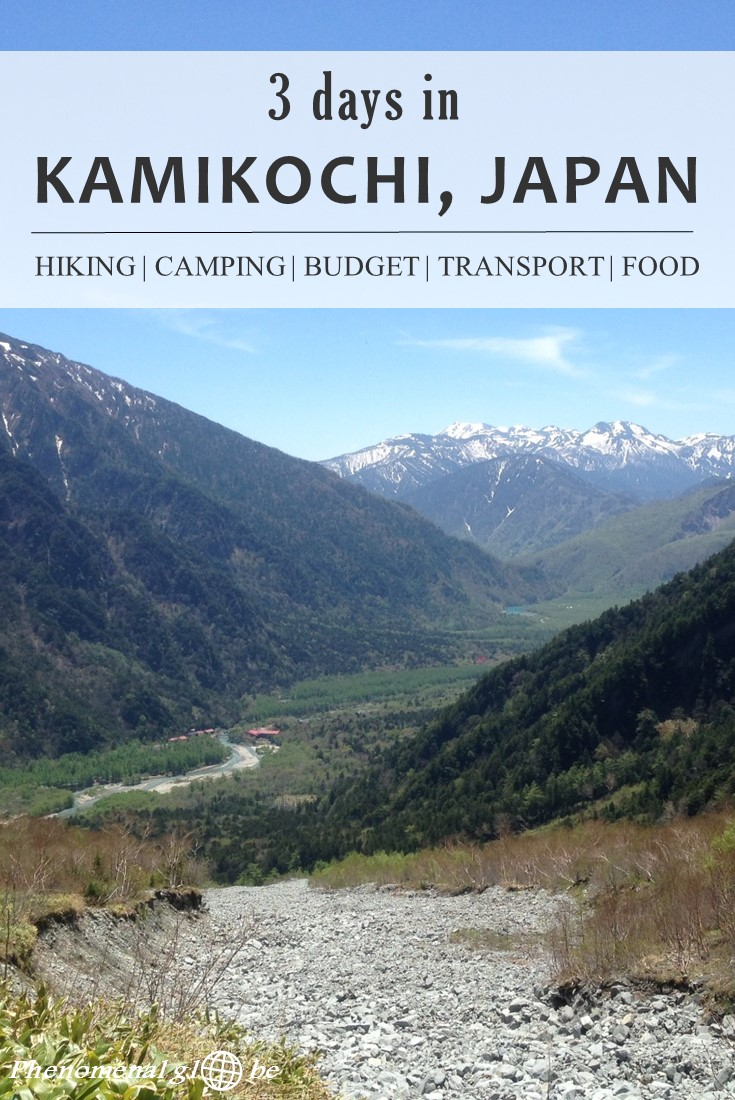 Don't skip Kamikochi when you are in Japan! It's a different side of versatile Japan, a place to disconnect, to enjoy nature and spend your days hiking and marveling at the magnificent scenery. We spent ¥9816/€78/$89 per day as a couple and had 3 wonderful days hiking and camping in the Japanese Alps. #Japan #Kamikochi