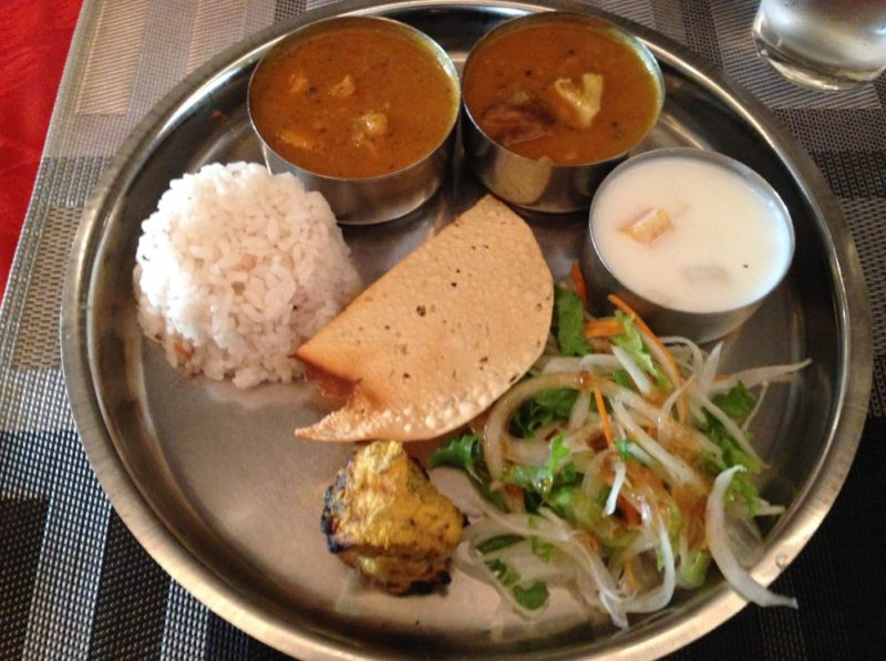 Where to eat in Kyoto - Indian food at Kerala restaurant