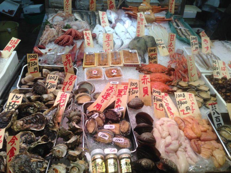 Kyoto Nishiki market Japan
