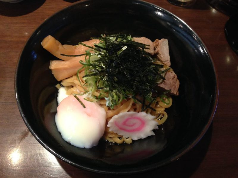 Delicious abura soba in Kyoto