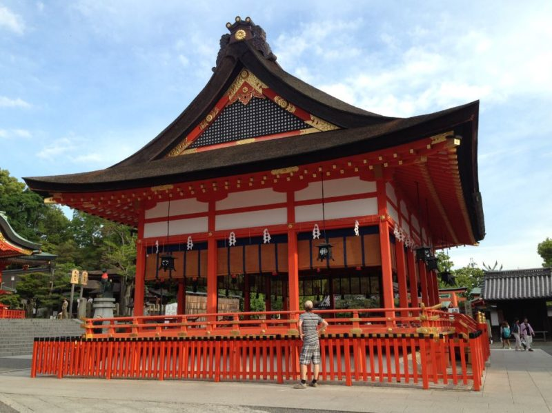 The vermilion Fushimi Inari Shrine is one of Kyoto highlights