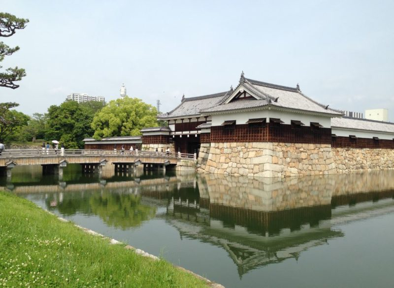 Hiroshima Castle sightseeing