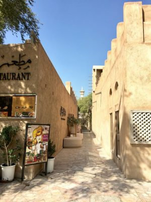 Al Fahidi historic neighborhood in Dubai