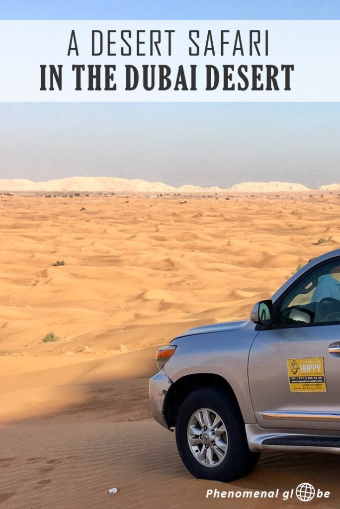 A Dubai desert safari is a must-do item on your Dubai itinerary! Dune bashing is spectacular and the desert is beautiful both by day and by night. Go dune bashing, quad and camel riding, enjoy cultural performances, eat delicious Middle Eastern food and watch the sunset over the desert.