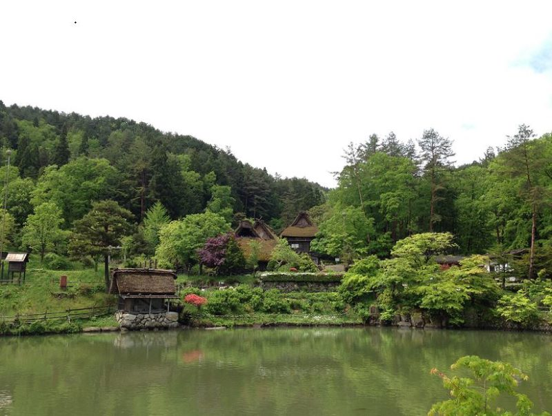 Hida Folk Village Takayama Japanese Alps