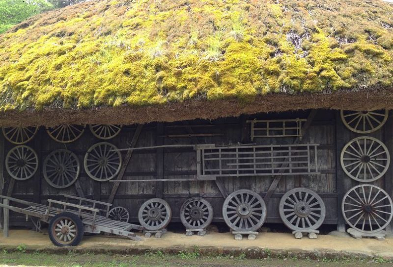 Takayama Hida Folk Village Japanese Alps