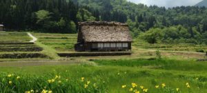Village of Shirakawago Japanese alps