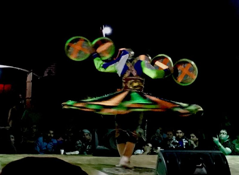 traditional tanoura dance desert safari dubai