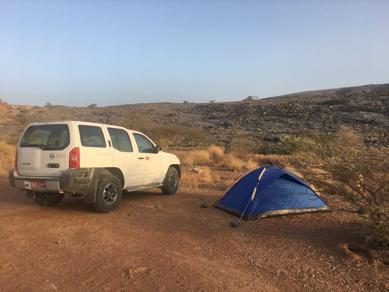 Campsites in Oman and where to find them