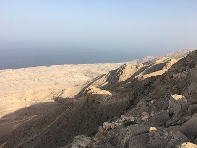 Eastern Hajar Mountains Oman coastal views of Finns