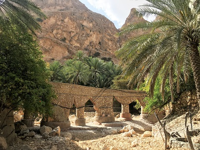 Jaylah mountain village in Eastern Hajar Mountains Oman
