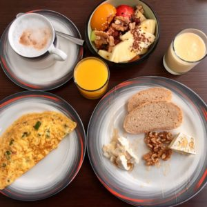 Radisson Blu Sohar Oman delicious and extensive breakfast buffet