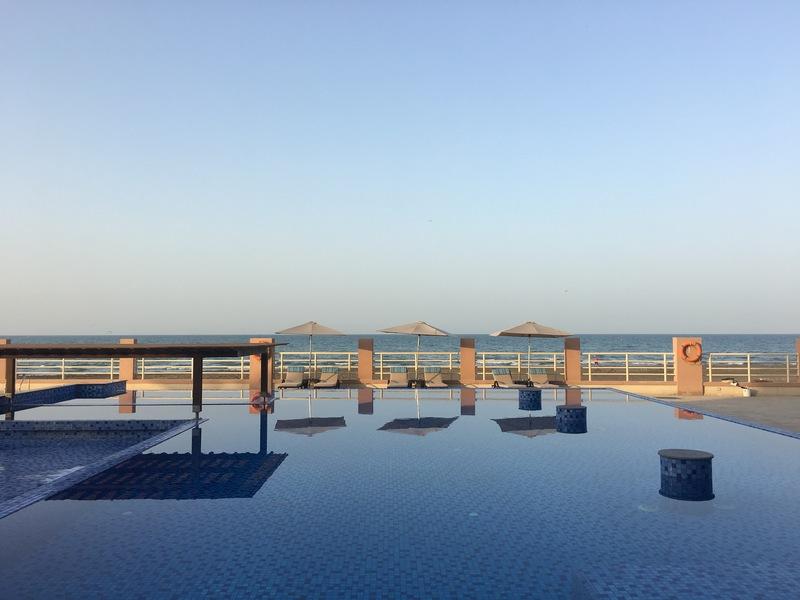 Radisson Blu Sohar Oman swimming pool