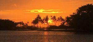 Sunset Kalpitiya Sri Lanka