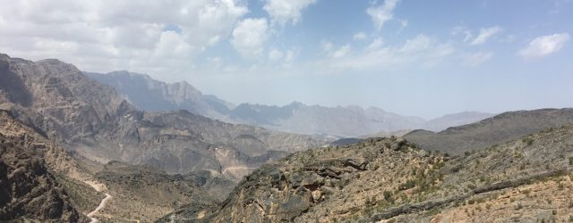 Wadi Bani Awf most beautiful off-road trip Oman