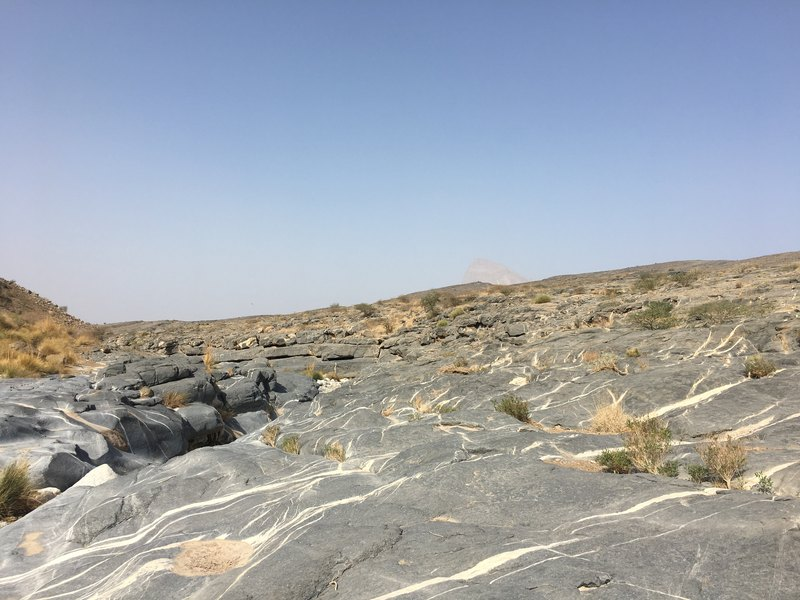 Wadi Damm Oman hike to Misfeh