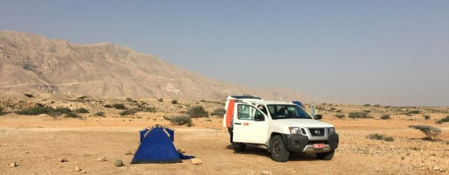 Where to find campsites in Oman - wild camping guide