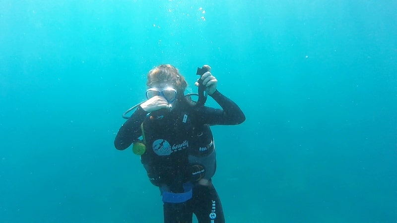 Diving at the Perhentian Islands in Malaysia - Anti Gravity Divers