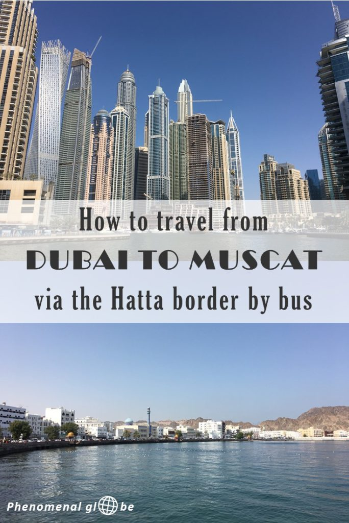 Everything you need to know about traveling from Dubai to Muscat via the Hatta border by bus. How to buy a ticket & what to expect at the U.A.E./Oman border