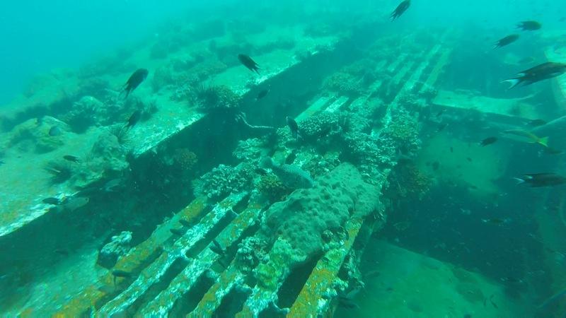 Sugar Wreck Dive Site Perhentian Islands Malaysia