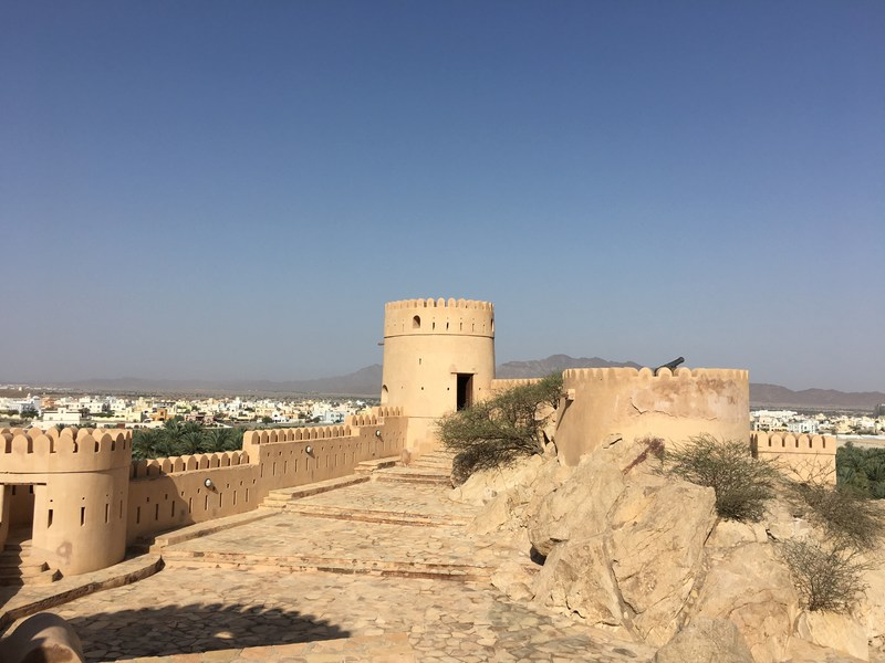 Visit Nakhal Fort in Oman - historic fort and budget activity
