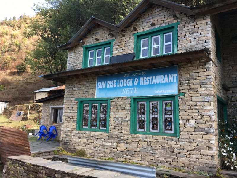 Accommodation along the Everest Base Camp trek what to expect