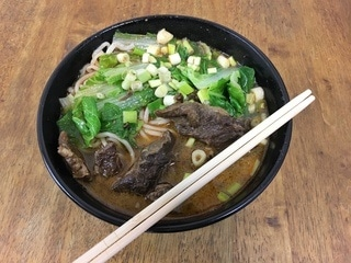 Best beef noodles soup in Taipei Taiwan